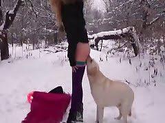 dog fuck girl